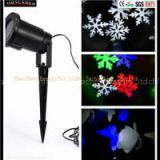 Waterproof Outdoor Projector Christmas Pattern Holiday Time LED Light