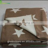 Handmade knitted cotton baby blanket hospital and hotel use cotton thermal blanket,thermal blanket manufacture