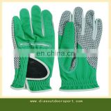Synthetic leather anti-slip golf gloves manufacturer