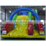 2017 Aier colorful commercial inflatable slide/inflatable stair slide/new design CE certified inflatable slide