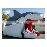shark shaped inflatable outdoor party tent for sale