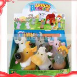 5 inch vinyl toys soft toy farm animals