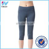 Yihao women's new design bodybuilding fitness training pants quick dry gym wear legging