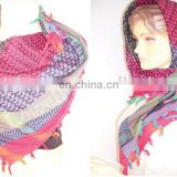 MULTICOLOR TRADITIONAL ARAFAT SCARF