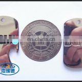 hot sale cheap two side metal 3d blank dog tag from manufacturer