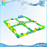 2018 New Game Inflatable Aqua Park Adult Water Obstacle Course For Sale