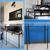 50inch black antique style bathroom vanity base