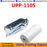 Good Quality Sony Upp 110s Compatible Sony Video Printer Ultrasound Thermal Paper Roll 110mm*20m