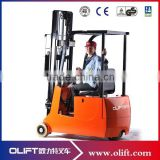 2.0tons Narrow Aisle Three wheels full electric Forklift Truck