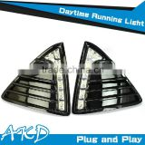AKD Car Styling for Ford Focus3 DRL New Focus3 DRL Daytime Running Light Good Quality LED Fog lamp