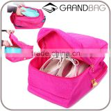 Wholesale Three Layer Large Capacity Waterproof Ladies Shoes Storage Bag for Travel or Trip