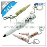 metal keychain bullet USB with PDA touch pen for fashionable promotional gifts