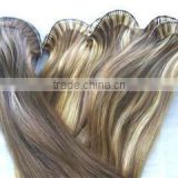 Top Quality 20inch Brazilian Virgin hair tape hair extensions,skin pu weft