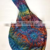 Thailand handmade Tie dye Hippie / Boho Cotton bag