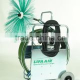 Lifa SpecialCleaner 20, air duct cleaning brushing machine, rotating shaft cleaning equipment