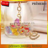 Creative Rhinestone Letter LOVE Sex Key chain charm Bag Keyring Lover Jewelry