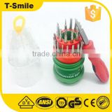 T3 T4 T5 T6 T7 T8 T10 T15 Mobile Phone Repair Kit 31 in 1 screwdriver Magnetic bits