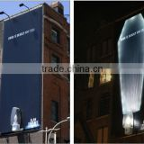 Outdoor frontlit PVC coated Tarpaulin for flex banner