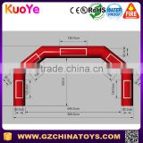 cheap giant inflatable banner arches for rental