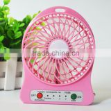 Portable flexible electrical mini usb fan gadget ventilador portatil ventilateur fans battery powered for table laptop cooling
