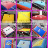Jumping stunts big air bag, inflatable jumping air bed for sale