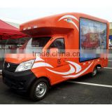 orange/fast food truck/ mobile food truck with kitchen ,ice cream machine,juice machine                                                                         Quality Choice