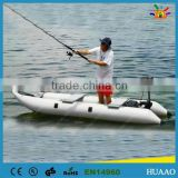 pro marine inflatable pontoon boat fishing