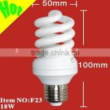 26W 8000hrs full spiral t3 energy saving lamp(110v-130v/220v-240v)