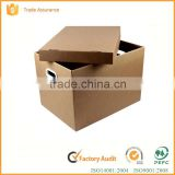 2016 hot sale strong carton box packing shipping box for office /house moving box                                                                                                         Supplier's Choice