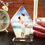 Sunmeta China Crystal Trophies Blank Crystal frame Crystal Gifts for Sublimation BSJ10A                                                                         Quality Choice