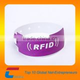 rfid paper wristband with customized logo
