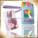Hot selling style PU/Real genuine pvc card holder