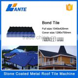 LINYI WANTE colorful Stone coated step tiles roofing sheets in Lagos Nigeria,metal roof tile                                                                         Quality Choice