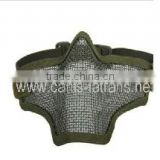 Strike Steel Mesh half face safety tactical military mask CL9-0015GRN