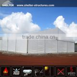 prefabricated building and construction warehouse tent for storage supplied by China factory