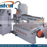 FASTCUT-25H high efficiency atc cnc router with tool holder collets router bits vacuum pump dsp controller servo system