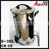 Stainless Steel Electric Water boiler Water Urn Tea Boiler 6-35 Liter hotel,restaurant equipment hot water dispenser