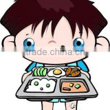 Wholesale Cheap Cartoon Kids Decal Windows Walls Adhesive Label ,Professional Kids Stickers