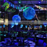 Advertising Inflatable Earth Balloon With Led Light / Inflatable Earth Globe Beach Ball For Advertising