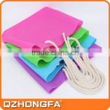 2015 Alibaba China Factory china supplier candy color silicon beach bag with rope handle                                                                         Quality Choice
