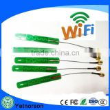 2.4G 5.8G dual band PCB built-in antenna with SMA connector