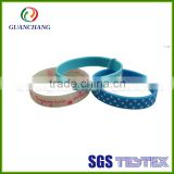 China wholesale cheap promotional silicone bracelet, hot sale antistatic wrist band, high quality ibeacon wrist band