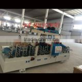 SKR machinery automatic coating machine for PVC/PE/PP WPC board profile pipe wrapping