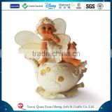 Baby gifts decorate money bank little angel figurines
