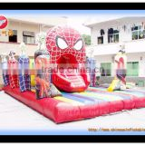 Spider man jumping castle / inflatable jumping castle/attractive spider-man inflatable jumping bouncer obstacle