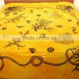 RTC-6 wall decor printed wall hanging printed bed sheet table runner tapestry handmade bedspread Jaipur Manufacturer