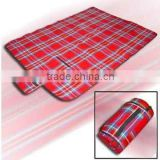 travel picnic blanket check design print picnic blanket portable picnic blanket extra large picnic blanket