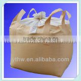 disposable food grade waterproof dustproof pp woven jumbo bag for salt, sugar, flour, food stuffs super sacks