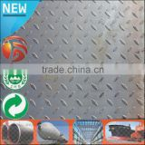 Low Price 6mm thick Q235B SS400 checker plate chequer sheet diamond steel plate