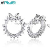 925 sterling silver jewellery gold plated earrings